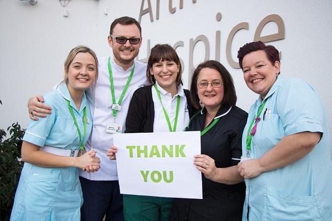 Hospice team says thank you
