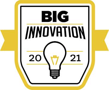 BIG Innovation award banner