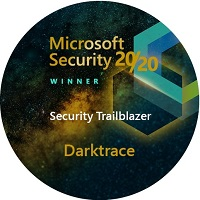 Darktrace Microsoft 'Security Trailblazer' award