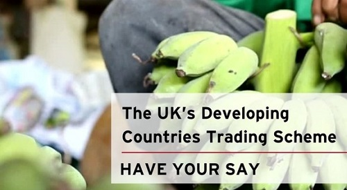 Bananas in background: The UK's developing country scheme - have your say