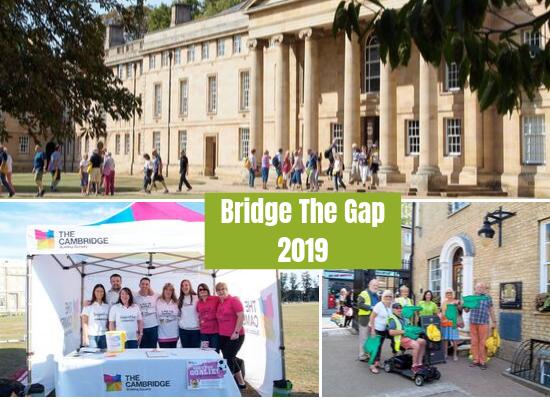 Arthur Rank Hospice Charity and Romsey Mill's Bridge The Gap annual event.