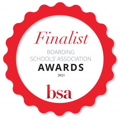 BSA rosette_ finalist