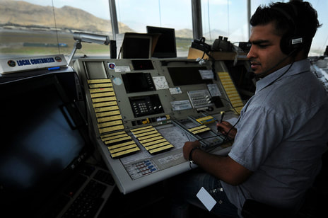 Image: Air traffic controller - English for Aviation courses from ABC Cambridge