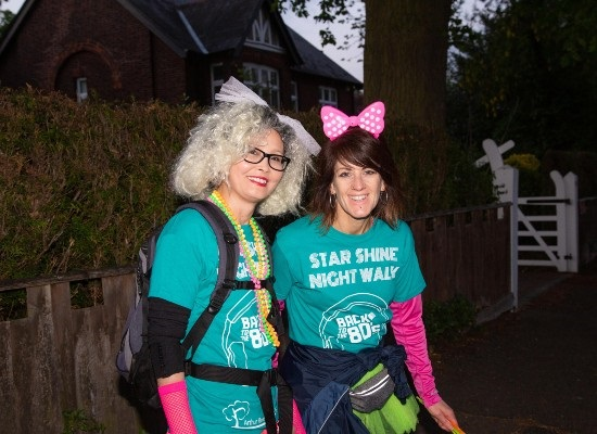 Participants enjoy getting together to take part in Arthur Rank Hospice Charity's Star Shine Walk in previous years. This year the event is virtual, so walkers are taking on the challenge of 5,10 or 20 miles - individually, in a group or in a team - wherever they like, over the weekend of 22 and 23 May.