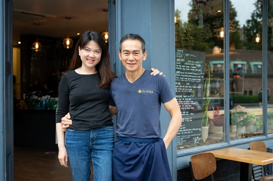 Bridges' owners  Meggy and Chan Yip