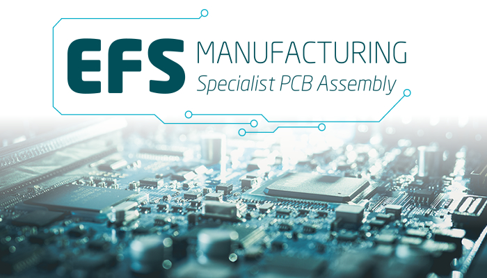 EFS Manufacturing Ltd, new logo and visual branding