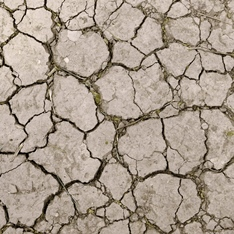 parched earth following drought