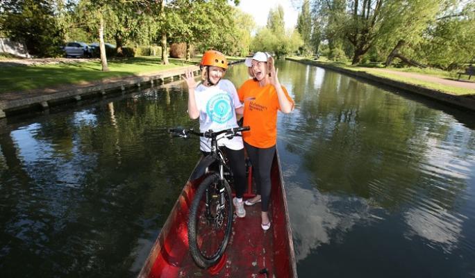 The team: Lucia Petrakova & Jo Morgan
