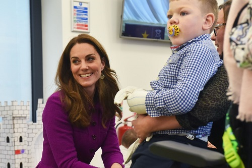 The Duchess of Cambridge at The Nook, EACH