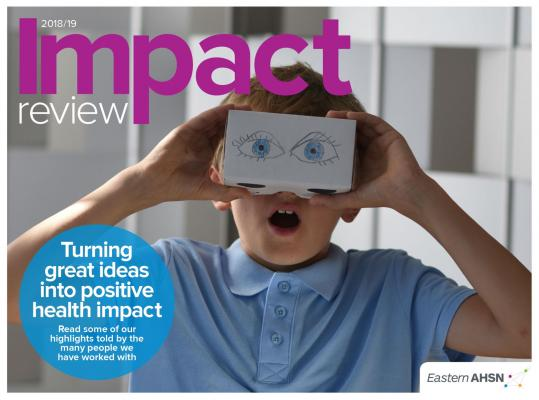 EAHSN Impact Review front cover