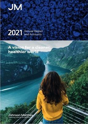 JM annual report - cover