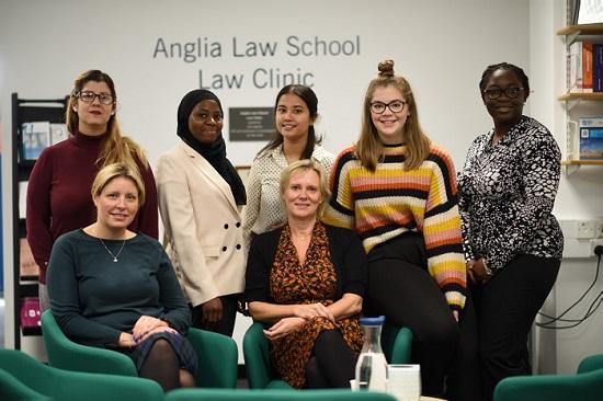 Anglia Ruskin Law Group photo