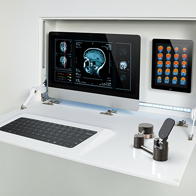 MRI Mouse in setting