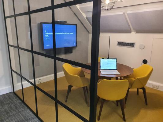 1plex's newly refurbished demo facility room