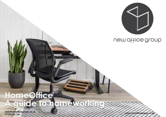 New office Group guide to home working banner