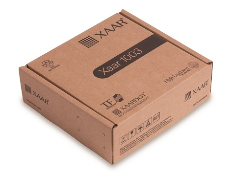 New recyclable packaging - Xaar 1003