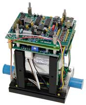 A high level assembly circuit board made by OSI Electronics UK.