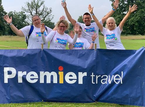 Premier Travel at EACH Bubble Rush