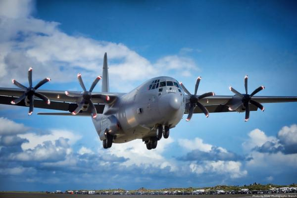RDAF C-130J...Photo by RDAF Photographic Branch