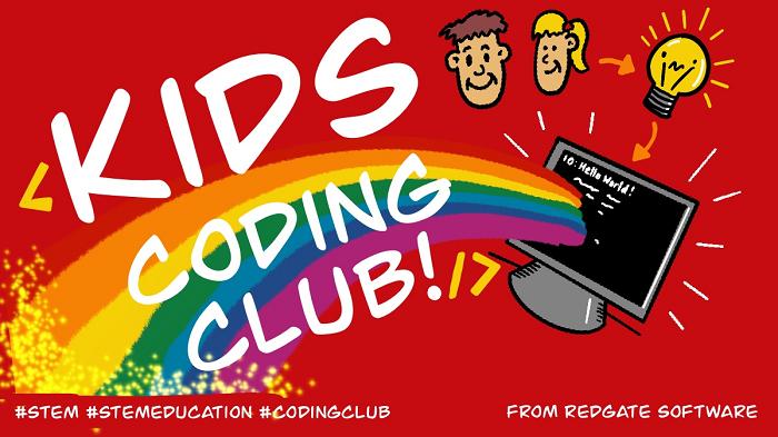 Redgate Kids Coding Club banner