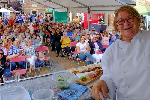 chef and TV presenter Rosemary Shrager