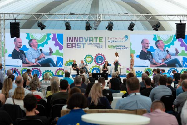 Previous Innovate East conference (before pandemic)