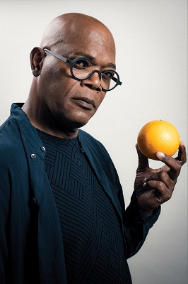 Samuel L Jackson supports Alzheimer's Research UK's Share the Orange campaign