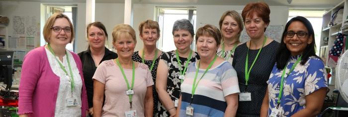 The Arthur Rank Hospice Community Team