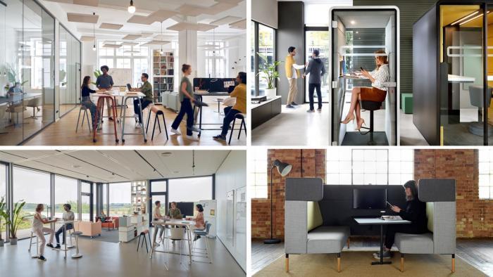 future workspace collage