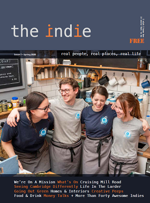 cover of The Indie_ Spring 2020 issue