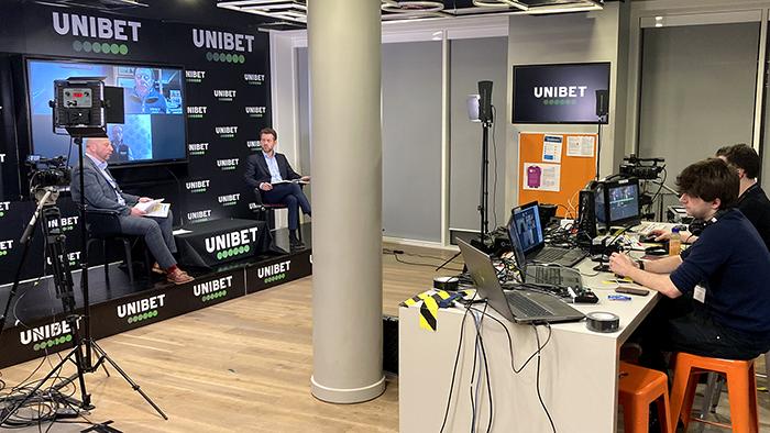 Unibet hybrid event production