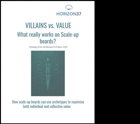 Villains vs. Value - Horizon37 _ report cover