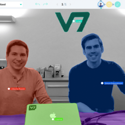 V7 Labs - Alberto Rizzoli and Simon Edwardsson