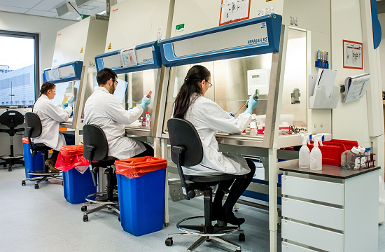 CHO Cell technology lab shot