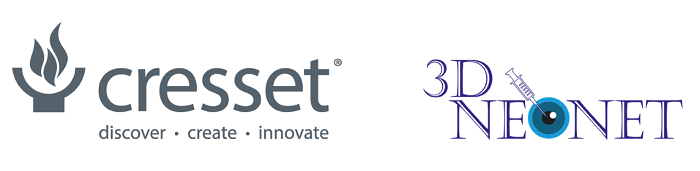 Cresset and  3D-NEONET consortium logos