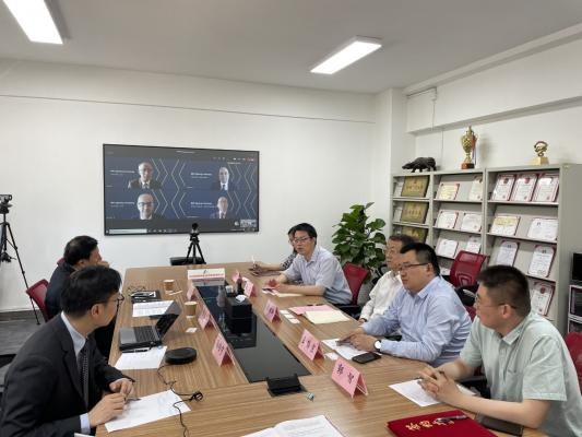 Xaar senior executives joined in by video conference