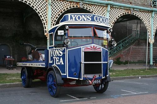 Lyons lorry
