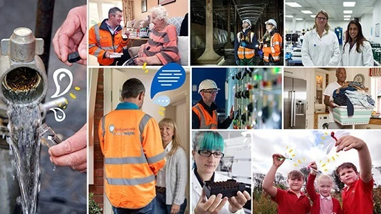 Anglian Water report_ collage