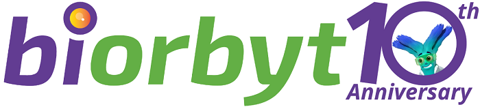 biorbyt logo and 10th anniversary graphic