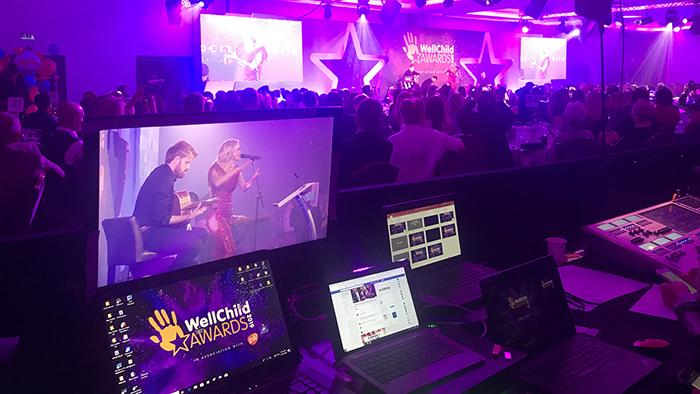WaveFX at the WellChild Awards
