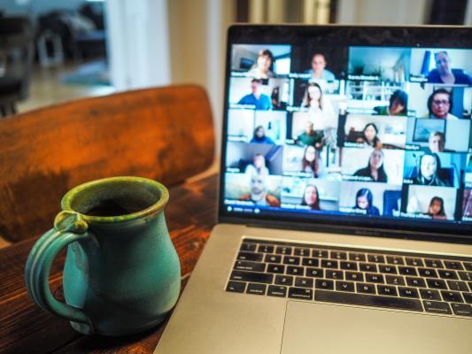 webinar image on a computer screen