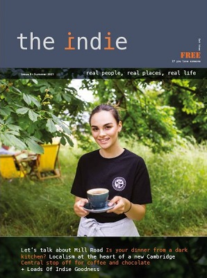 Cover of the summer 2021 edition of The Indie