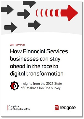 Redgate financial services insights_ whitepaper report cover