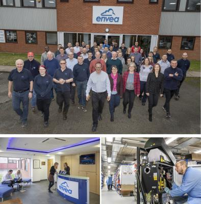 New premises for ENVEA UK LTD