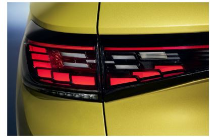 Magna's Surface Element Lighting technology debuted on the 2021 VW ID.4.