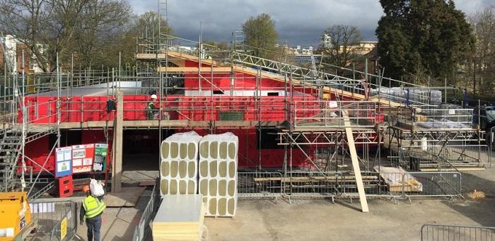 New nursery under construction