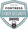 2020 Fortress Cyber Security Award logo
