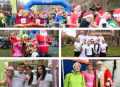 Ely Festive 5K fun runners brought some seasonal cheer to the City of Ely for Arthur Rank Hospice Charity!