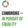 Cambridge in pursuit of equality artwork