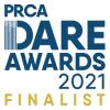 DARE awards finalist graphic